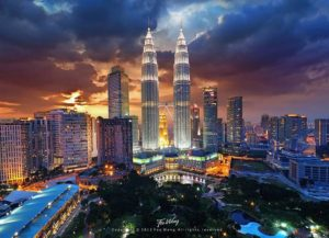 KLCC-Petronas-Twin-Tower-at-Dusk